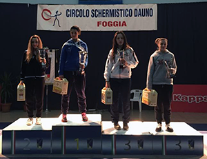 Camilla Rossi, 3° classificata