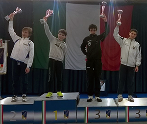 Francesco Vannucci, 3° classificato